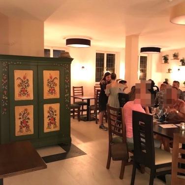 Restaurant in gemütlicher Atmosphäre