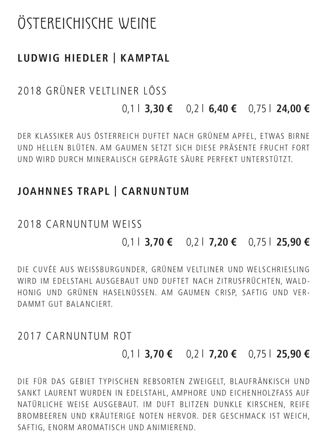 14_Östereich. Weine