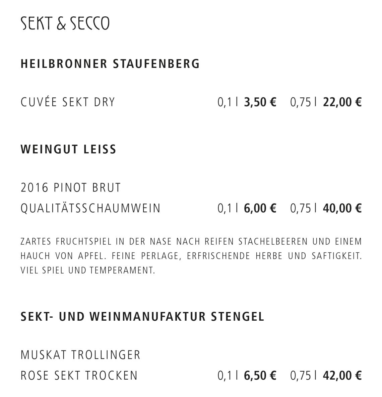 2_Sekt & Secco
